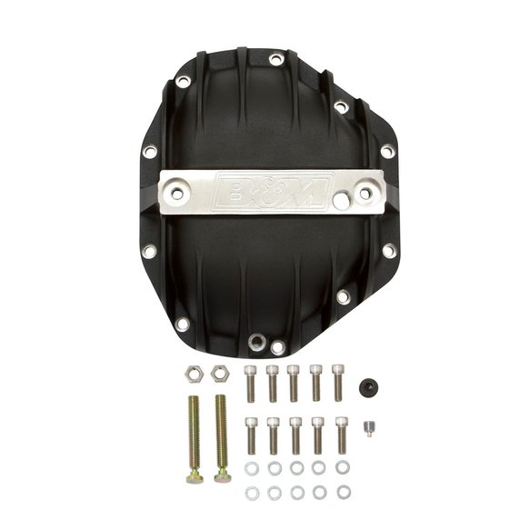 11315 - B&M 11315 Hi-Tek Aluminum Differential Cover for Dana 80 - Black Image