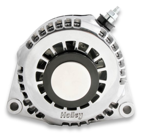 97-188 - Holley 97-188 Alternator Pulley Cover Polished Image