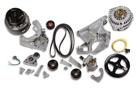 20-136 - Holley 20-136 LS/LT Complete Accessory Drive Kit Image