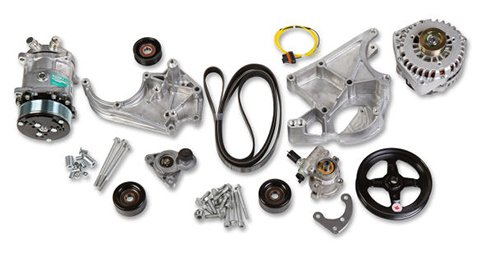 20-137 - Holley 20-137 LS/LT Complete Accessory Drive Kit Image