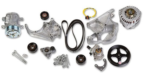 20-138 - Holley 20-138 LS/LT Complete Accessory Drive Kit Image