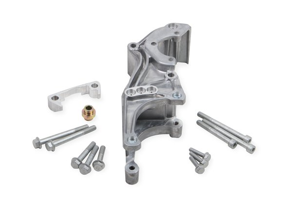 20-155 - Holley 20-155 Low LS Accessory Drive Bracket - Driver's Side P/S & Alt Bracket Image