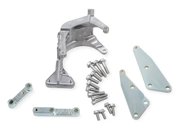 20-159 - Holley 20-159 Low LS Accessory Drive Bracket - Passenger's Side A/C Bracket Image
