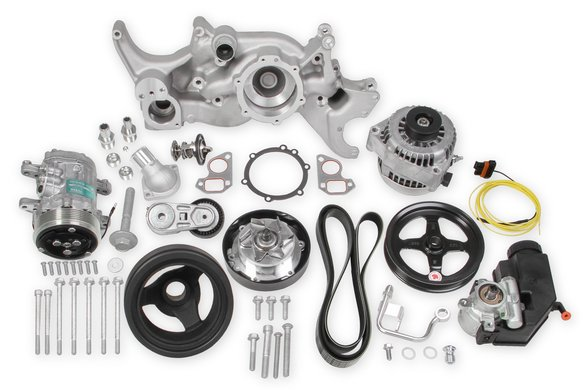 20-185 - Holley 20-185 Mid-Mount Complete Accessory System Image