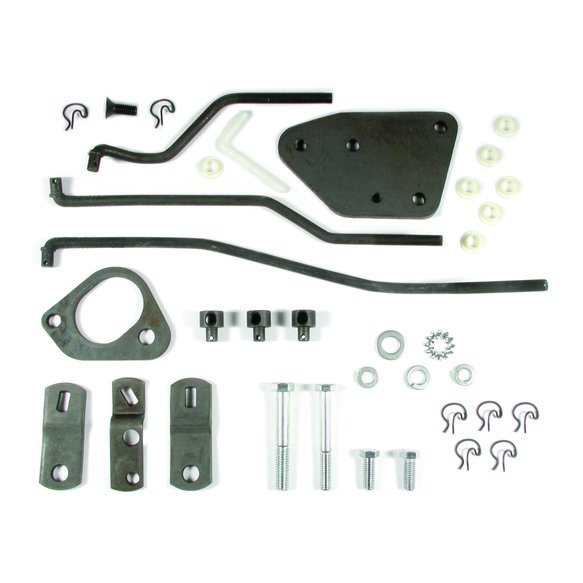3738609 - Hurst 3738609 Competition/Plus 4-speed Installation Kit - GM Image