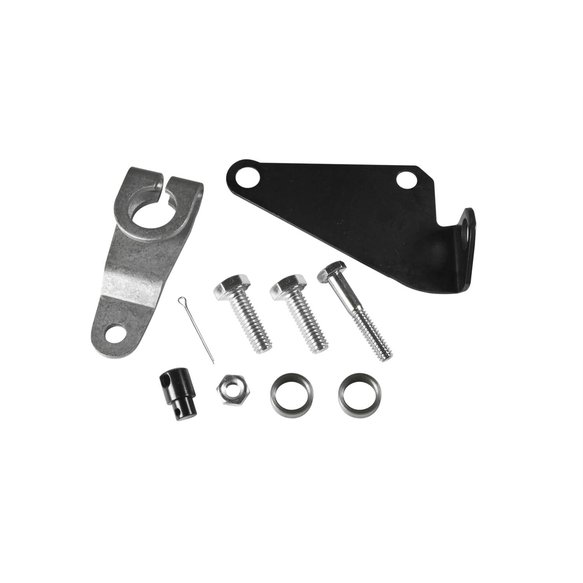 40497 - B&M 40497 Cable Bracket & Shift Lever Kit - Ford Image