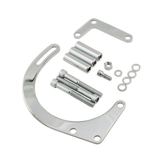 5179 - Mr. Gasket 5179 Lower Alternator Mounting Kit - Chrome Image