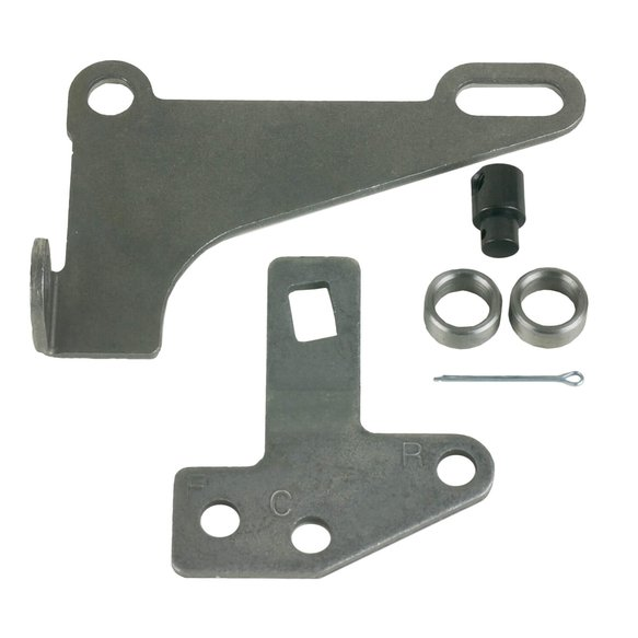 75498 - B&M 75498 Cable Bracket & Shift Lever Kit - GM Image