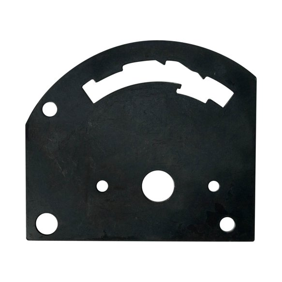 80712 - B&M 80712 Shifter Gate Plate - 4-speed Forward Pattern Image