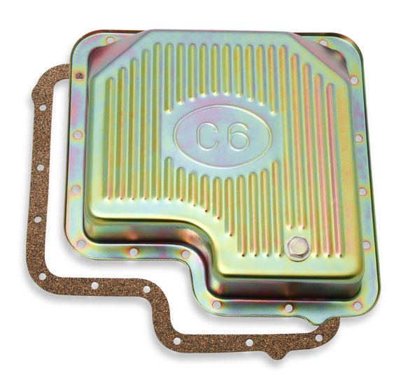 9756ZMRG - Mr. Gasket 9756ZMRG Transmission Oil Pan - Zinc Image