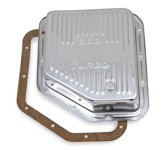 9768CMRG - Mr. Gasket 9768CMRG Transmission Oil Pan - Chrome Image