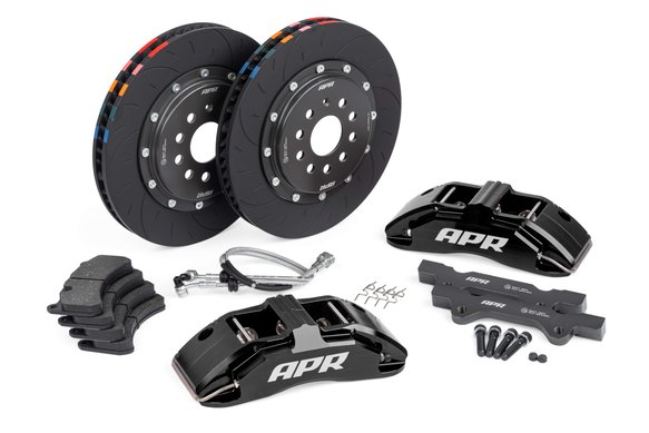 BRK00002 - APR Brakes - 350x34mm 2 Piece 6 Piston Kit - Front - Black Image