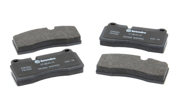 D250-0394 - Dinan by Brembo D250-0394 Replacement Brake Pad Set - Compatible with 1995-2004 BMW 5-Series Image