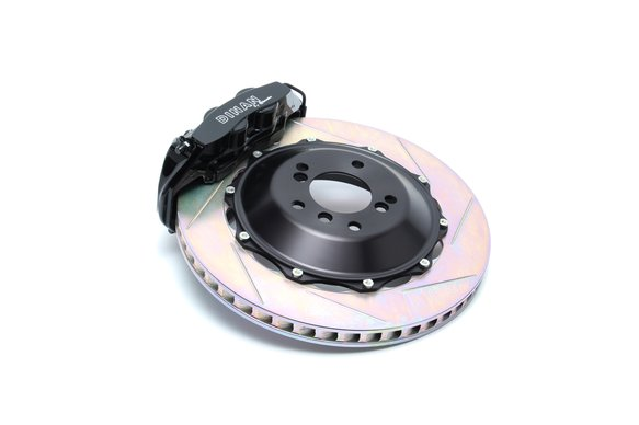D290-0535-B - Dinan by Brembo D290-0535-B Front Brake Set - Compatible with 2000-2006 BMW X5 Image