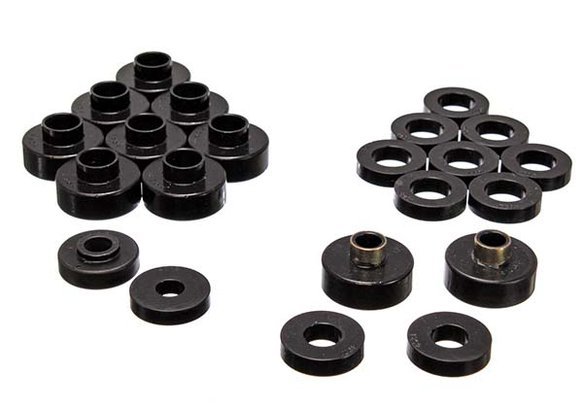 ENE24103G - ENERGY SUSPENSION 2.4103G POLYURETHANE BODY MOUNT BUSHINGS BLACK Image
