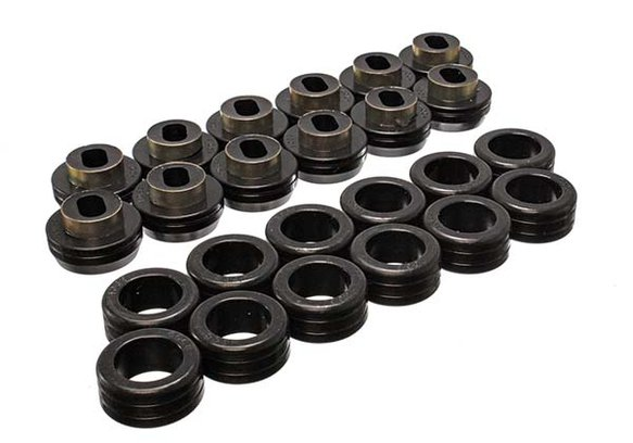 ENE34132G - ENERGY SUSPENSION 3.4132G POLYURETHANE BODY MOUNT BUSHINGS BLACK Image