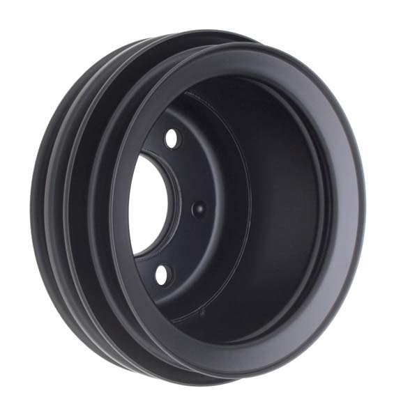 TSD8311 - Trans Dapt 8311 1965-1966 SB Ford 3-Groove Lower Pulley Black Image