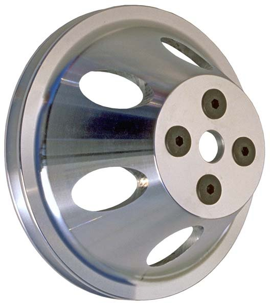 TSD8874 - Trans Dapt 8874 BBC Aluminum Pulley Single Upper Swp Image