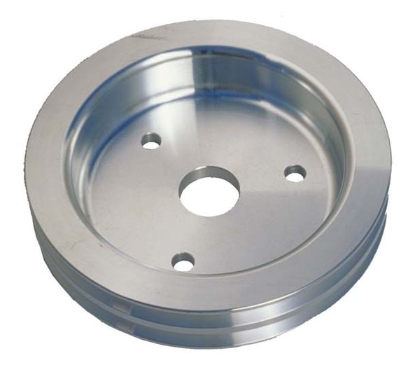 TSD8893 - Trans Dapt 8893 BBC Pol. Aluminum Pulley Double Lower Swp Image