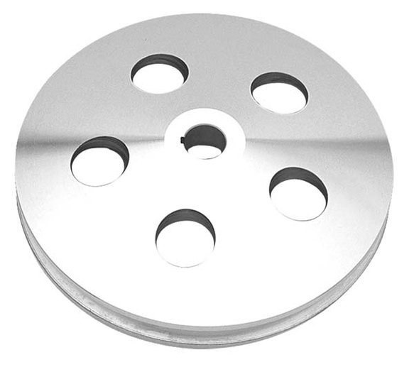 TSD8934 - Trans Dapt 8934 Early GM Polished Aluminum Power Steering Pulley Image