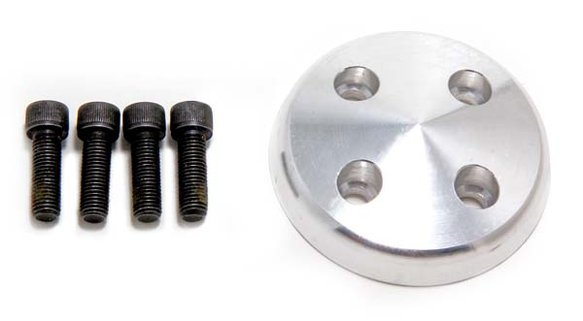 TSD9489 - Trans Dapt 9489 Aluminum Pulley Nose 1969-1985 283-350 Chevy with Long Water Pump Image