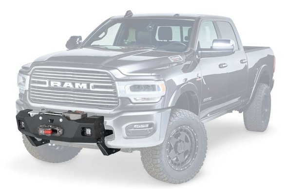 WAR104288 - Warn 104288 Winch Mounting Kit (Full Frame) - RAM HD Image