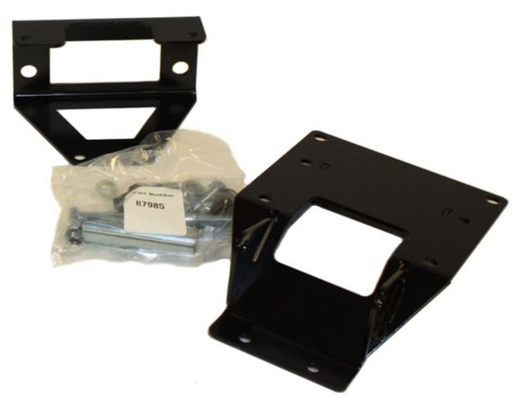WAR87987 - WARN 87987 ATV Side x Side Winch Mount for Polaris Ranger RZR Image