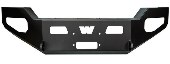 WAR95230 - Warn 95230 Heavy Duty Front Bumper without Grille, without Brush Guard Image